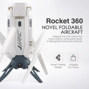 JJR/C JJRC H51 Rocket 360 2.4G 720P Camera Wifi FPV 360 Degree Panoramic Aerial Photography Altitude Hold Foldable RC Drone