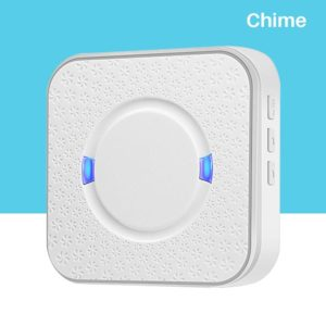 AC 90V-250V Ding Dong 52 Chimes 110dB Wireless Doorbell Receiver Wifi Video Doorbell Camera Low Power Consumption Indoor Bell