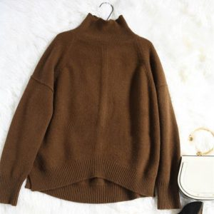 Autumn And Winter sweater women turtleneck knitting pullover Fashion loose Cashmere sweater new knitted sweater Leisure sweaters