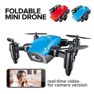 S9 Mini Drone With Camera HD Camera Foldable RC Quadcopter Altitude Hold Helicopter WiFi FPV Micro Pocket Drone Direct Selling