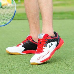 POLALI  Professional Badminton Shoes For Men Women Badminton Sneakers Lefusi Couples Badminton Sneaker Indoor Sport Tennis Shoes