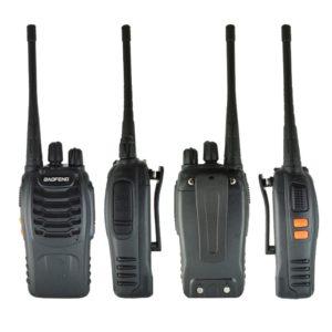 1PC /2PCS Baofeng bf-888s Walkie Talkie Radio Station UHF 400-470MHz 16CH BF 888s Radio talki walki BF 888s Portable Transceiver