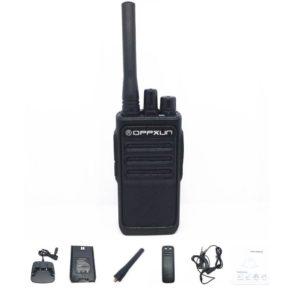 OPX338 walkie-talkie high-power long-distance hand-to-desk 8W office outdoor professional walkie-talkie