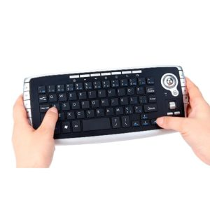 G32 Mini 2.4Ghz Wireless Keyboard Touchpad With Mouse For PC PS4 Smart TV High Quality Gaming Keypad Black USB Receiver L0311