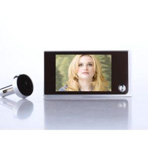 SN520A Video-Eye Home Door Bell Wireless Doorbell 120 Degree Security Electronic Cat'S Eye Smart Cat'S Eye AAA Battery Doorbell