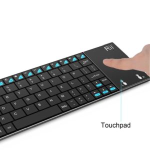 English Keyboard Rii mini K12+/i12+ Wireless Keyboard and  K12+ Bluetooth Keyboard with Touchpad mouse for PC Tablet Android