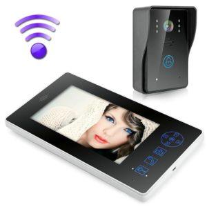 "2.4G 7"" TFT Wireless Video Door Phone Intercom Doorbell Home Security Camera Monitor  8501A11"