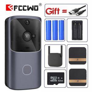 New M10 WIFI Doorbell Smart IP Video Intercom Video Door Phone Door Bell Camera For Apartments IR Alarm Wireless Security Camera