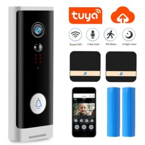1080P Tuya WIFI Doorbell Security Camera Wireless HD Video Audio Intercom Door Bell Smart Home Monitor Cloud Service Bell Camera
