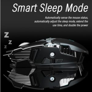 Ergonomic 2.4GHz Wireless Gaming Mouse Computer-Mice Gamer Laptop Optical Mouse Professional Mouse Gamer 6400DPI