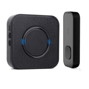 300M Distance Wireless Door Bell Doorbell Waterproof Wall Plug In Loud Chime LED Flash 1+2 US/EU/UK Plug