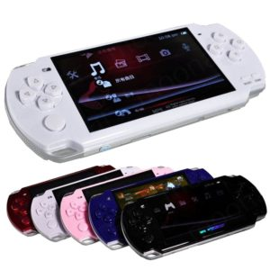 2021 New Built-in 5000 games, 8GB 4.3 Inch PMP Handheld Game Player MP3 MP4 MP5 Player Video FM Camera Portable Game Console