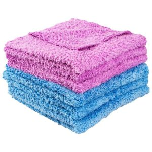 Car Microfibre Cleaning Towel Soft Cloth Washing Cloth Cleaning Towels