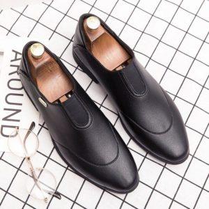 elegant formal leather shoes men italian vintage dress male footwear gentlemen wedding moccasins designer oxford shoes for men