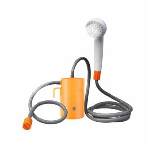 Portable Car Caravan Outdoor Camping Shower Car Washer High Pressure Power Shower Electric Water Pump Travel Pet Take Shower Kit