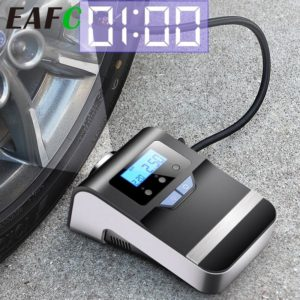 Portable Car Air Compressor Digital Tire Tyre Inflator Pump 12V with Big Light Bright Flashing Digital Pressure Gauge 150Psi