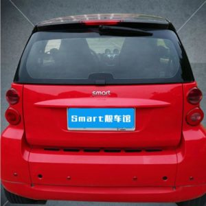 Car Rear Bumper Trunk Back Door Handle Sticker Auxiliary Knob Exterior Decoration For Old Smart fortwo 451 Car Accessories