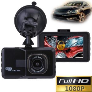3 Inch Full HD 1080P Car Driving Recorder Vehicle Camera DVR EDR Dashcam With Motion Detection Night Vision G Sensor