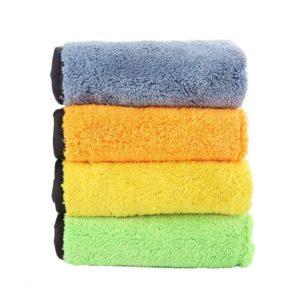 30*30CM Car Wash Microfiber Towel Car Cleaning Drying Cloth Hemming Car Care Cloth Detailing Car Wash Towel