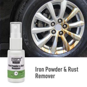Automotive Car Accessories 1PCS 5*5*3cm HGKJ-18-20ml Car Paint Wheel Iron Powder Rust Remover Auto Window Cleaner Car Cleaning