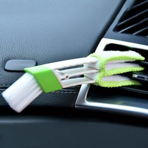Plastic Dirt Duster Cleaner Brush Car Air Conditioner Vent Blinds Cleaning Brush car Accessories