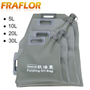 5L 10L 20L 30L Liter Portable Car Motorcycle Fuel Tank Gasoline Oil Storage Bucket Can Soft Oil Bag Bladder Off-road Petrol Cans
