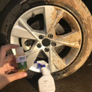 1PCS HGKJ-14 20ml Add 5 times more Water = 120ml Car Wheel Ring Cleaner Window Glass Cleaning Auto Remove Rust Car Accessories