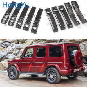 100% real carbon fiber Auto outer door handle cover for Mercedes Benz G Class W463 W464 G65 G55 G63 G500 G550 G350 2009-2019