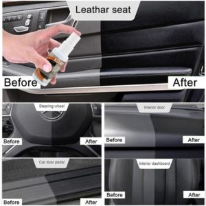 Dropship 1PCS 30ML Car Accessories Automotive Car Cleaning interior leather seat home leather polishing wax renovation cleaner