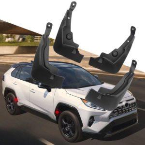 For Toyota RAV4 XA50 2019 2020 Front&Rear Mudflaps Splash Guards Mud Fender Mud Flaps Black Plastic 4pcs Car Styling