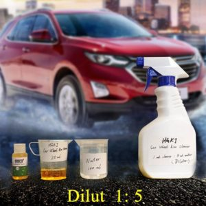 1PCS Car Accessories HGKJ-14 20ml Add 5 times more water = 120ml Car Wheel Ring Cleaner Window Glass Cleaning Auto Remove Rust
