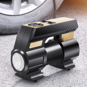 12V Portable Electric Car Air Pump Tire Inflator Pump Car Air Compressor Auto Tyre Pumb for Car Motorcycle Bicycle
