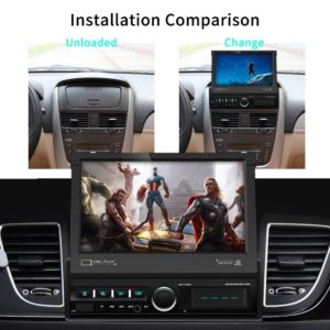 Podofo 1 Din 7'' Car Radios GPS Autoradio Android Mirror Link Car Multimedia Player Touch Screen Bluetooth USB FM AUX Stereo